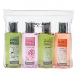 Il cofanetto gel doccia Fragonard in confezione bagnoschiuma (4 x 70 ml)