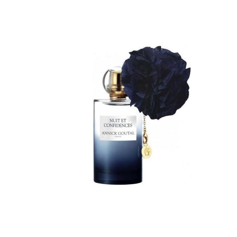 Nuit et Confidences è un profumo femminile di Annick Goutal con jus raffinato e note olfattive di pepe