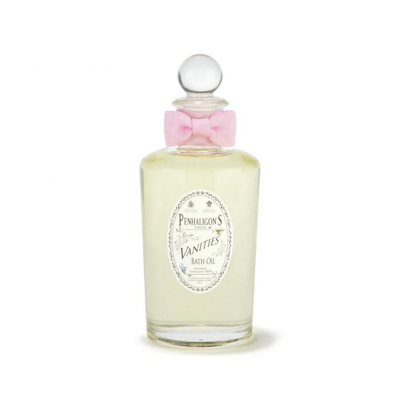 Vanities bath oil 200 ml di Penhaligons è un olio da bagno nutriente e idratante per una pelle liscia come seta.