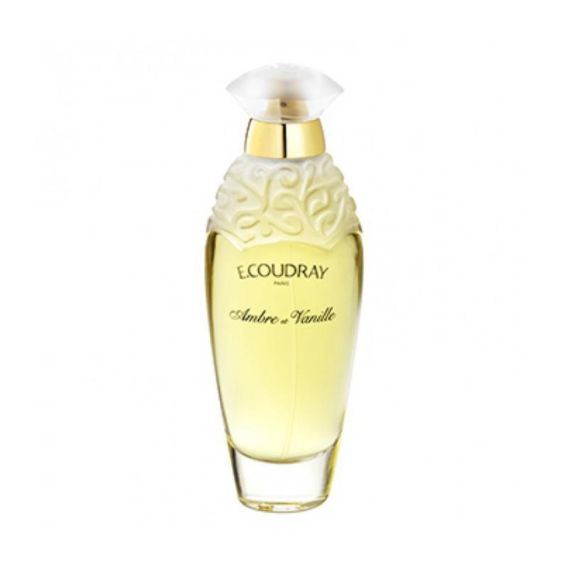 Ambre Et Vanille di E. Coudray è una fragranza ambrata e gourmand dove si percepiscono le note suadenti di eliotropio