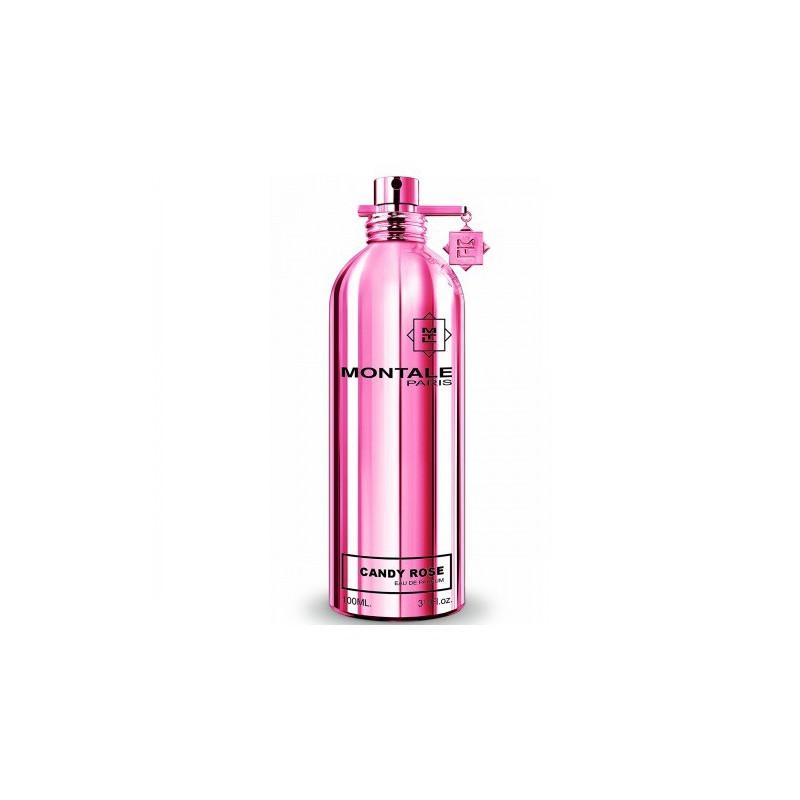 Candy Rose di Montale è un profumo fruttato e goloso in confezione rosa shocking