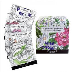 pochettes parfumees 20 pz