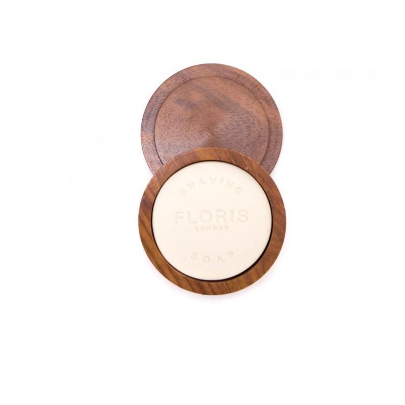 n° 89 shaving soap bowl 100 g. Floris London è un sapone per la rasatura con ciotola in legno di rosa indiano.
