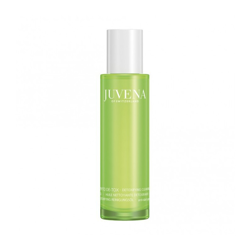 Phyto Detox detoxifying cleansing oil di Juvena è un olio per viso e occhi che favorisce l'eliminazione di tossine e impurità
