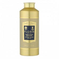 Edwardian bouquet talcum 100 g di Floris London è un talco miscelato a base di aloe vera che lascia la pelle profumata.