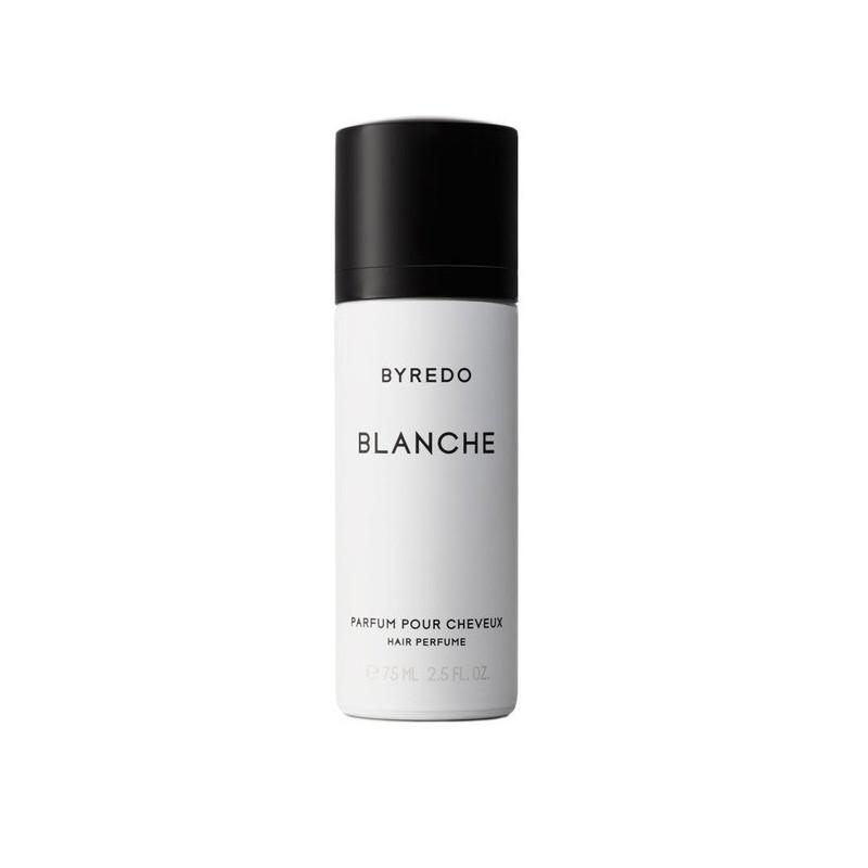 Blanche parfum pour cheveux di Byredo è un profumo per capelli con una formula a base di silicone e polimero