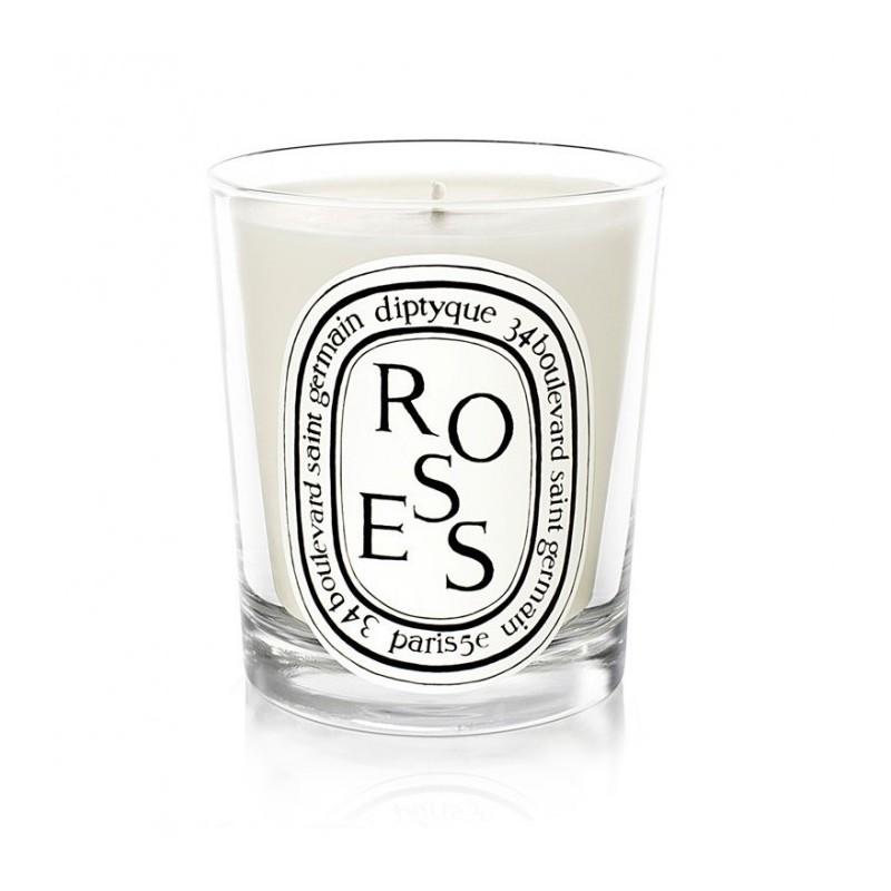 Roses bougie parfumee