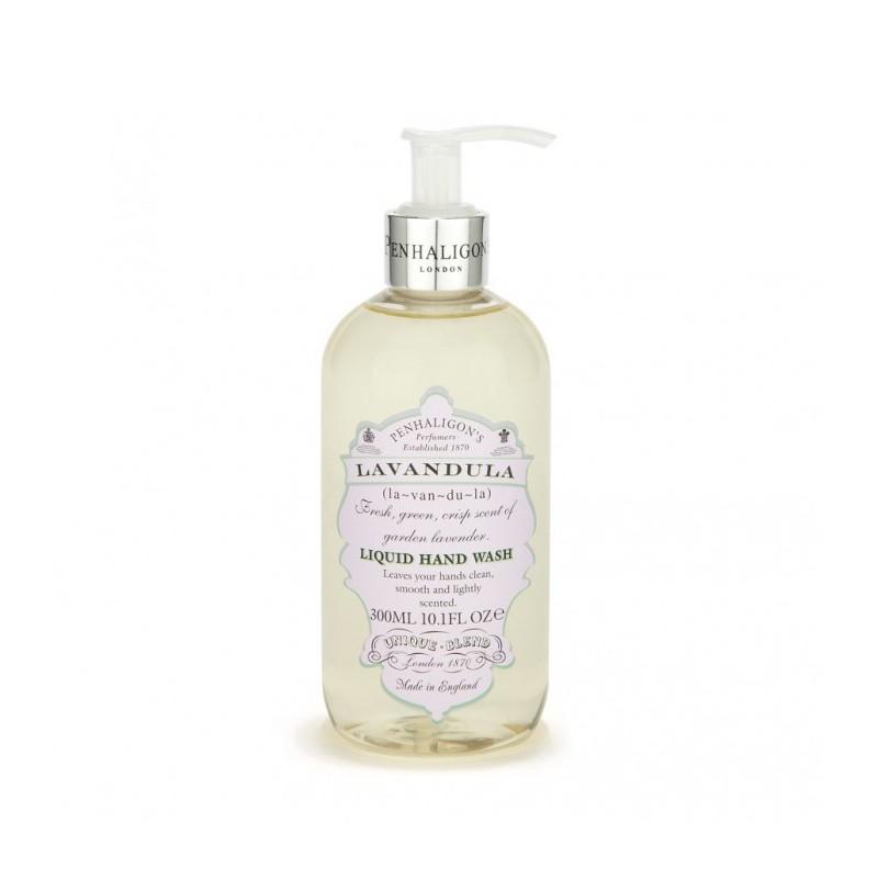 Lavandula liquid hand wash da 300 ml di Penhaligons è un sapone liquido delicato ed emolliente.