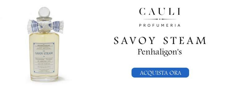Savoy Steam della maison Penhaligon's