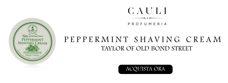 TAYLOR OF OLD BOND STREET PEPPERMINT SHAVING CREAM
