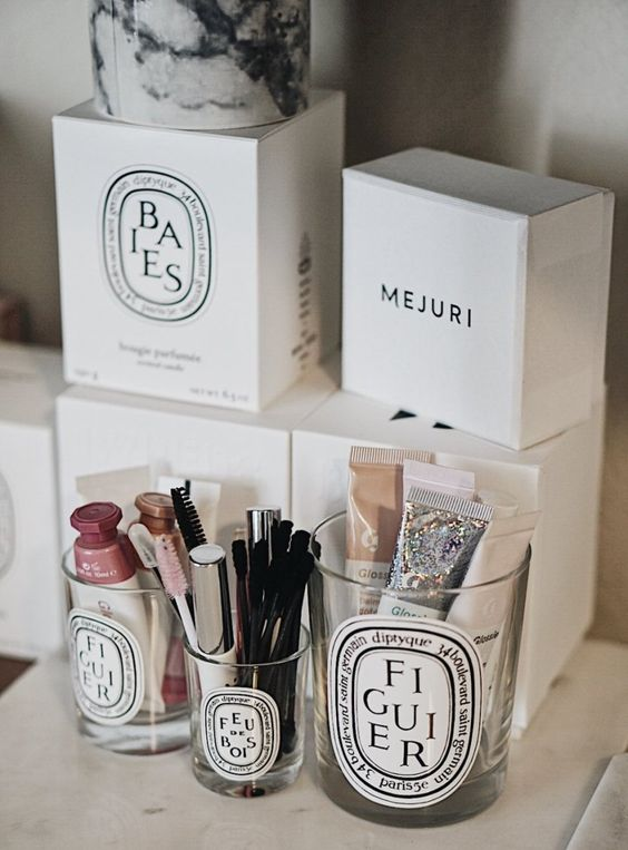 Candele Diptyque per il make up