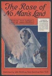 Sheet music. The Rose of No Man's Land. Fonte: Wikipedia